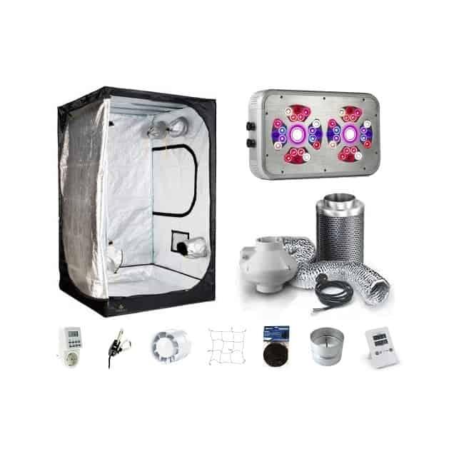 GROWBOX 120X120 CONFIGURABILE CON LAMPADA LED