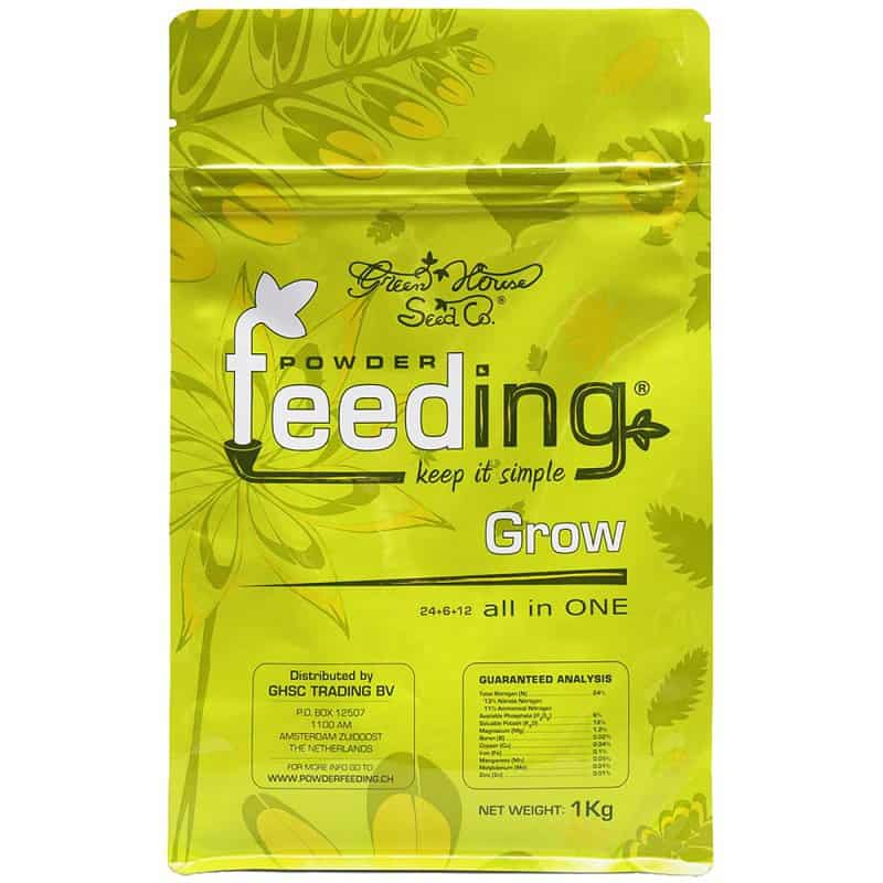 POWDER FEEDING - GREENHOUSE - MOTHER PLANTS