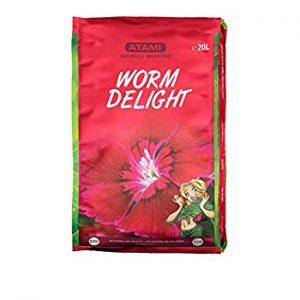 atami humus di lombrico worm delight
