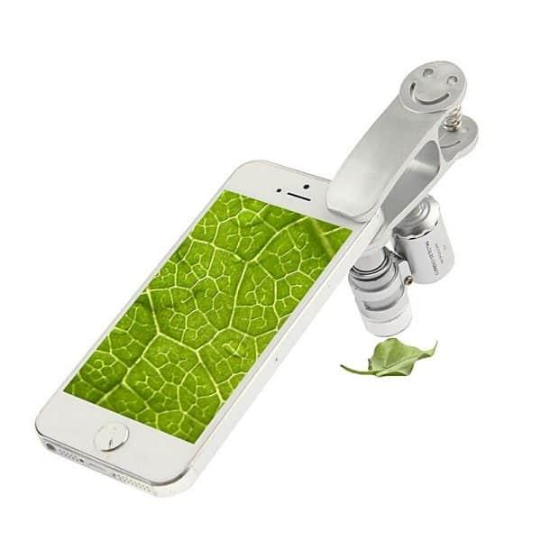 Trichoscope microscopio per smartphone